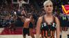 Katy Perry, in meciul de basket al vietii, alaturi de Nicki Minaj